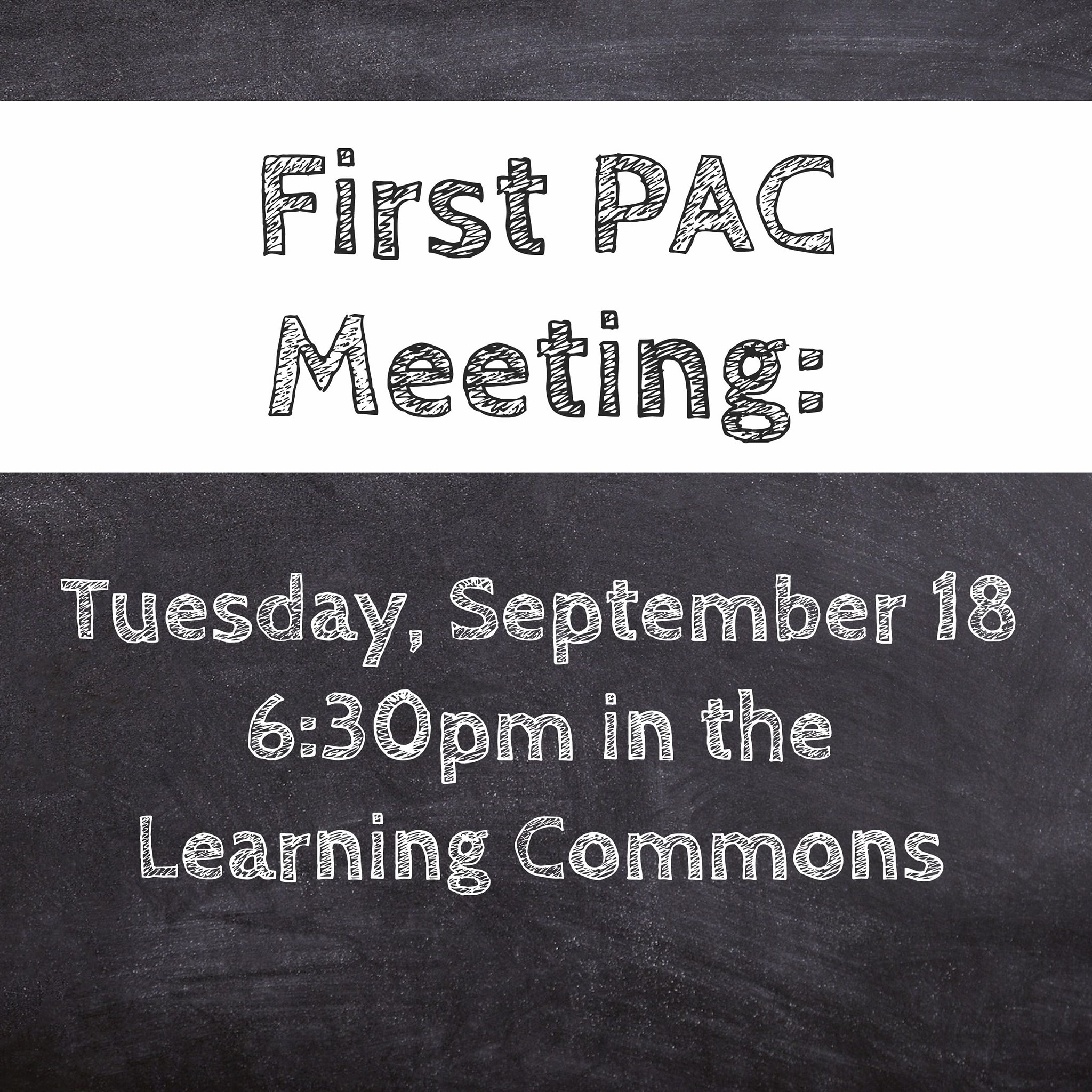 Meeting Date: Sept 18th, 6:30pm in the learning commons